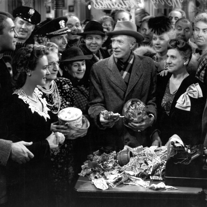 its a wonderful life analysis Capra's first production through his newly-formed liberty films, it's a wonderful life lost money in its original run, when it was perceived as a fairly downbeat view of small-town life.
