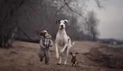Photographer Explores Loving Bond Between Children And Dogs