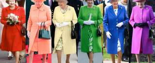 Queen Elizabeth: The Secrets of the Queen's Wardrobe