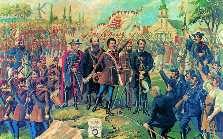 The Hungarian Revolution and War of Independence of 1848-1849