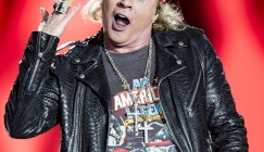 Celeb bits - Axl Rose and Tom Jones stumble out of a party