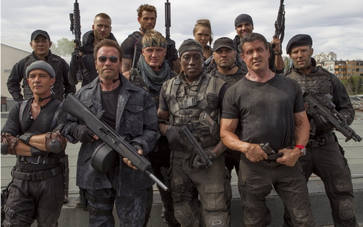 Movie - The Expendables 3