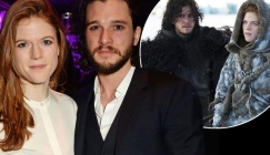 Rose Leslie Made Kit Harington Go to Party as Jon Snow