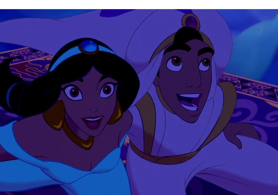 Aladdin A Whole New World Sing Along Version
