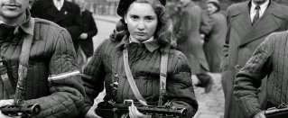 Heroes of 1956. The girl whose photo was on covers of newspapers all around the world