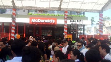 First McDonald's Restaurant Opens in Vietnam
