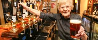 Real People - World's Oldest Barmaid