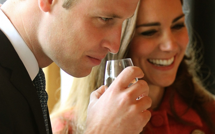 DUKE AND DUCHESS of Cambridge enjoy a rare romantic date night at a local pub