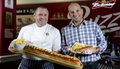 NOTW - Britain's longest hot dog goes on sale