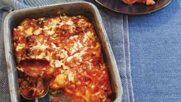 Chorizo and tomato bread and butter pudding - RECEPT ANGOLUL