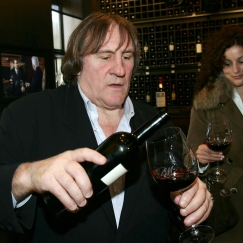 Gerard Depardieu Says He Drinks Up To 14 Bottles of Wine a Day!