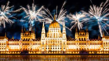 20th of August - St Stephen's Day - Fireworks for Hungary