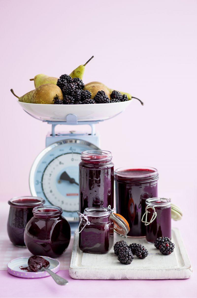 Blackberry and pear jam for Blackberry pear jam