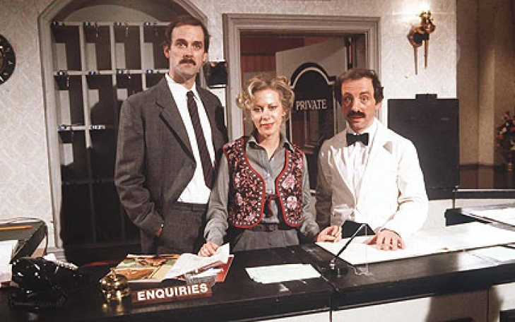 Fawlty Towers: Whose fault is it?