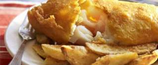 English Fish and Chips with Beer recipe