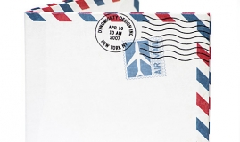 Useful dialogues - At the post office/Air mail