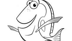 2010 August - Kids' corner: Finding Nemo Coloring pages
