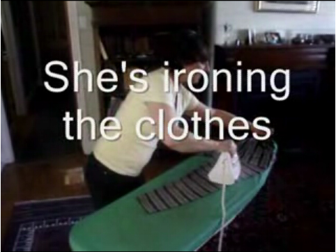Doing the housework