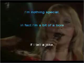 Abba - Thank you for the music - Karaoke