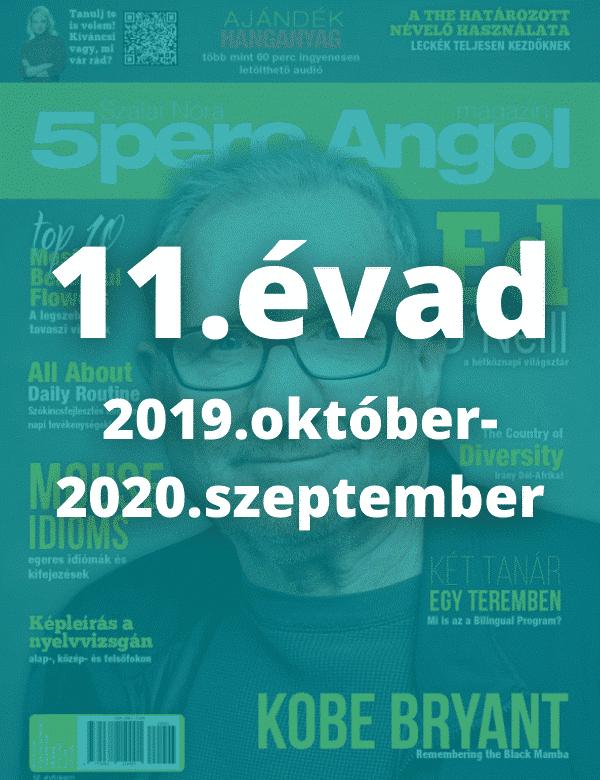11. évad (2019. október – 2020. szeptember)