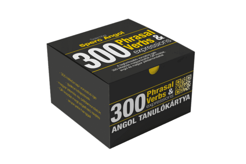 5 Perc Angol – 300 Phrasal Verbs