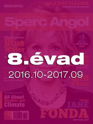 8. évad (2016.október – 2017.szeptember)