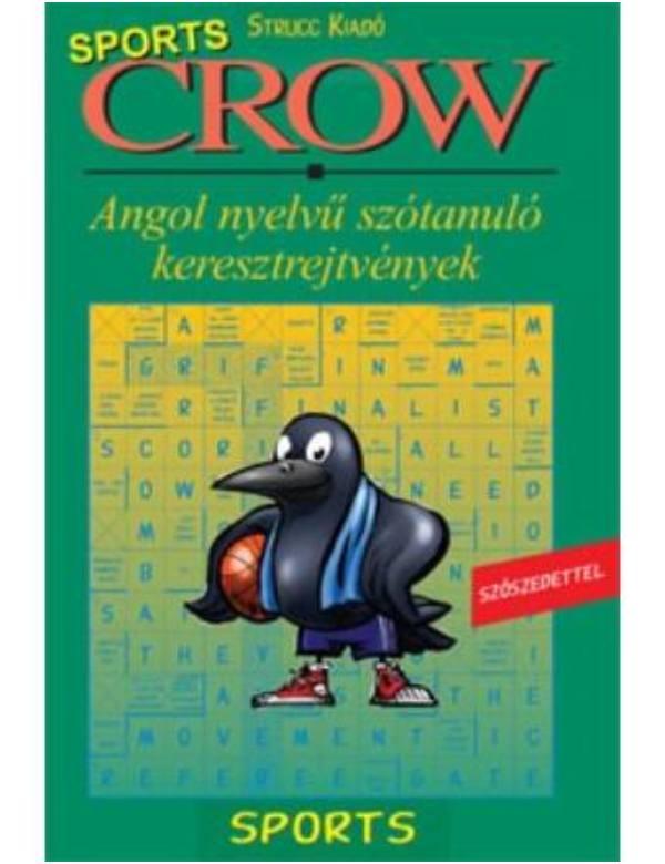 Crow Sports – angol nyelvű szótanuló keresztrejtvény