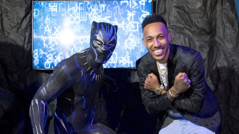 Black Panther waxwork model unveiled at Madame Tussauds